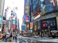 La ville de New York style Futurama