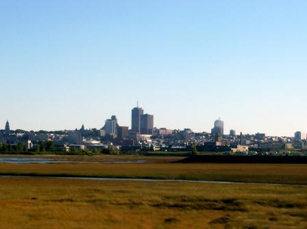 La ville de Québec au début de l'automne