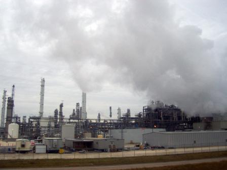 Les raffineries de pétrole et les industries polluantes du Texas