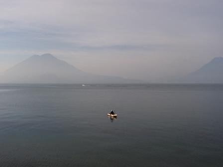 Le plus beau lac du monde, le lac Atitlán au Guatemala