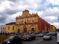 La Cathédrale de San Cristobal de las Casas au Chiapas