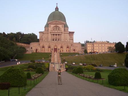 L'oratoire Saint-Joseph du Mont Royal à Montréal