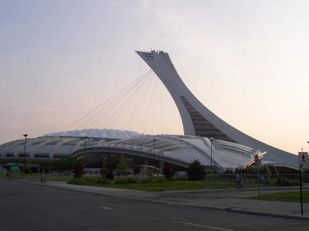 Le stade olympique de Montréal, un vaisseau pour aller sur Mars