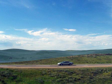 Les plaines de la Saskatchewan