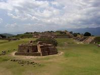 Monte Albán, site archéologique zapothèque à Oaxaca