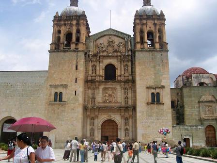 L'église de Santo Domingo à Oaxaca