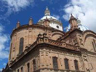 La cathédrale de l'immaculée conception de Cuenca en Équateur
