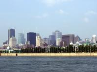 Montréal vue à partir de l'Ile Ste-Hélène