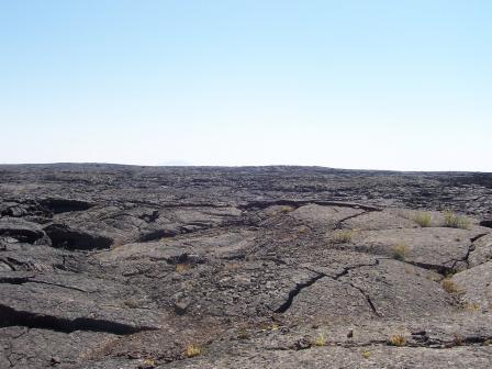 Champs de lave à Craters of the Moon National Monument