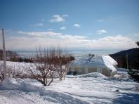 L'hiver à Petite-Rivière-Saint-François